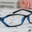 แว่นตาแฟชั่นเกาหลี สีฟ้าดำ (พร้อมเลนส์) thumbnail 1