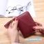 กระเป๋าสตางค์ Piece 2 Way wallet Size S [พับปิดกระดุม+มีซิปแยก] thumbnail 7
