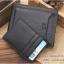 กระเป๋าสตางค์ผู้ชาย MS210 สีดำ thumbnail 3