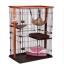 กรงแมว style Condo มีหลายชั้น บ้านแมว กรงสัตว์เลี้ยง เป็นทั้งบ้านที่นอน ห้องอาหาร ห้องน้ำสำหรับสัตว์เลี้ยง ประกอบง่าย มี 2 ขนาด [หมดสต็อกค่ะ] thumbnail 1