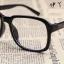 แว่นตาแฟชั่นเกาหลี กรอบดำมัน (ไม่มีเลนส์) thumbnail 3