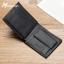 กระเป๋าสตางค์ผู้ชาย BA-013 [สีดำ มีซิป] thumbnail 5