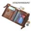 กระเป๋าสตางค์ผู้ชาย JB-002 [สีน้ำตาล มีซิป] thumbnail 4