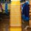 ผ้าซิ่นศิลามณี สีเหลืองสลับน้ำตาลทอง thumbnail 1