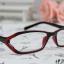 แว่นตาแฟชั่นเกาหลี สีแดงดำ (พร้อมเลนส์) thumbnail 1