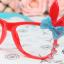 แว่นตาแฟชั่นเกาหลี กระต่ายฟ้าแดง (ไม่มีเลนส์) thumbnail 1
