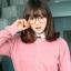 แว่นตาแฟชั่นเกาหลี สีน้ำตาล (พร้อมเลนส์) thumbnail 1