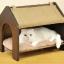 MU0022 เตียงนอนแมว ที่นอนแมว ห้องนอนแมว นำเข้าจากญี่ปุ่น thumbnail 1