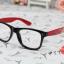 แว่นตาแฟชั่นเกาหลี กระโหลกดำแดง (ไม่มีเลนส์) thumbnail 2