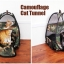 MU0015 เต๊นท์นอนแมว ตาข่าย ลายพรางทหาร ระบายอากาศได้ดี CAMOUFLAGE CAT TENT thumbnail 10