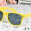 แว่นตากันแดดแฟชั่นเกาหลี สีเหลือง thumbnail 3
