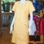 เดรสผ้าฝ้ายสุโขทัย สีเหลือง ไซส์ 2XL thumbnail 2