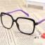 แว่นตาแฟชั่นเกาหลี ดำม่วง (พร้อมเลนส์) thumbnail 2