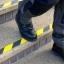 """Anti slip tape เทปกันลื่น สีเหลืองดำ กว้าง 2"""" ยาว 18 เมตร เทปมีกาว สำหรับติดบันได ทางเดิน ทางลาดเอียง thumbnail 4"""
