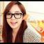 แว่นตาแฟชั่นเกาหลี ดำขาวลายจุด (ไม่มีเลนส์) thumbnail 1