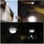โคมไฟพลังงานแสงอาทิตย์ 1x3LED ประหยัดพลังงาน กันน้ำ ติดบนผนัง ตกแต่งสวน ติดไว้ในคอกสัตว์เลี้ยง ทางเดิน ไฟเปิดเองเมื่อไม่มีแสงแดด thumbnail 1