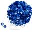 เลื่อมจานดิสโก้ 8มิล สีน้ำเงิน (120 กรัม) thumbnail 1
