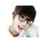 แว่นตาแฟชั่นเกาหลี ดำโรส (ไม่มีเลนส์) thumbnail 2