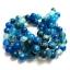 หิน blue agate 12มิล (32 เม็ด) thumbnail 1