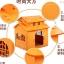 Baby Home บ้านสัตว์เลี้ยงพลาสติก บ้านตุ๊กตาสำหรับฤดูหนาว ทนทาน ทำความสะอาดง่าย ปลอดสารพิษ อากาศถ่ายเท หลังคา 2 ชั้น สูง 53 cm thumbnail 3