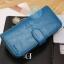 กระเป๋าสตางค์ Beauty Wallet [แบบพับครึ่งปิดกระดุม+มีซิป] thumbnail 10