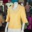 เสื้อผ้าฝ้ายสุโขทัย ปักมุก ไซส์ 3XL thumbnail 2