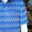 เสื้อสูทผ้าฝ้ายลายมัดหมี่สุโขทัย ไซส์ S thumbnail 2
