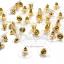 แป้นต่างหู ฐานแบน ขนาด12มม. สีทอง (20 คู่) thumbnail 1
