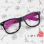 แว่นตาแฟชั่นเกาหลี ดำโรส (ไม่มีเลนส์) thumbnail 1