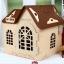 Baby Home บ้านสัตว์เลี้ยงพลาสติก บ้านตุ๊กตาสำหรับฤดูหนาวปลอดสารพิษ สูง 59 cm thumbnail 6