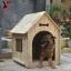 บ้านสุนัข สำหรับสัตว์เลี้ยงไซส์ใหญ่ ตั้งไว้กลางแจ้งได้ ระบายอากาศปลอดโปร่ง กันแดดกันฝน เป็นพื้นที่ส่วนตัวให้เจ้าตัวน้อยอย่างเป็นสัดส่วนค่ะ thumbnail 1