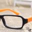 แว่นตาแฟชั่นเกาหลี สีดำส้ม (ไม่มีเลนส์) (ของจริงสีส้มเข้มกว่าในภาพคะ) thumbnail 2