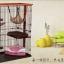 กรงแมว style Condo มีหลายชั้น บ้านแมว กรงสัตว์เลี้ยง เป็นทั้งบ้านที่นอน ห้องอาหาร ห้องน้ำสำหรับสัตว์เลี้ยง ประกอบง่าย มี 2 ขนาด [หมดสต็อกค่ะ] thumbnail 4