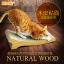 ที่ลับเล็บแมว โซฟาแมวกระดาษลูกฟูก ลายไม้ธรรมชาติ thumbnail 1