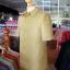เสื้อสูทไหมผสมฝ้าย สีเขียวทอง ไซส์ XL thumbnail 2