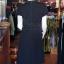 เดรสผ้าฝ้ายสีดำ คอจีน ไซส์ M thumbnail 4