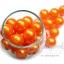 ลูกปัดมุกพลาสติก 16มิล สีส้ม (120 กรัม) thumbnail 1