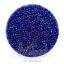 ลูกปัดเม็ดทราย 12/0 โทนรุ้ง สีน้ำเงิน (100 กรัม) thumbnail 1