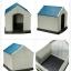 บ้านพลาสติกสัตว์เลี้ยง หมาแมว ตั้งไว้กลางแจ้งได้ ระบายอากาศปลอดโปร่ง thumbnail 8