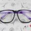 แว่นตาแฟชั่นเกาหลี กรอบสี่เหลี่ยมดำม่วง (พร้อมเลนส์) thumbnail 1