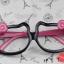 แว่นตาแฟชั่นเกาหลี กรอบคิตตี้ดำโรส (ไม่มีเลนส์) thumbnail 1