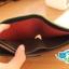กระเป๋าสตางค์ผู้ชาย MS183 [สีกรมท่า ด้านในน้ำตาล] thumbnail 6