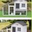 บ้านส่วนตัวของสัตว์เลี้ยงlสำเร็จรูป 2 ชั้น หลังคาจั่วสโลฟ มีใต้ถุน thumbnail 6