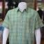 เสื้อเชิ้ตผ้าทอลายสก็อต ไม่อัดผ้ากาว สีเขียว-เหลือง ไซส์ XL thumbnail 2