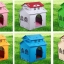 Baby Home บ้านสัตว์เลี้ยงพลาสติก บ้านตุ๊กตาสำหรับฤดูหนาว ทนทาน ทำความสะอาดง่าย ปลอดสารพิษ อากาศถ่ายเท หลังคา 2 ชั้น สูง 53 cm thumbnail 5