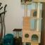 MU0061 คอนโดแมวเจ็ดชั้น ขนาดใหญ่ ต้นไม้แมว มีบ้านอุโมงค์สองชั้น ของเล่นแขวน สูง 180 cm thumbnail 14