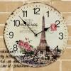 นาฬิกาวินเทจ ลายหอไอเฟล - รหัสสินค้า VTD020