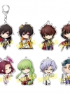 """Chara-Forme - """"Code Geass: Lelouch of the Rebellion III Koudou"""" Acrylic Keychain Collection Vol.2 8Pack BOX(Pre-order)"""