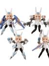 Desktop Army - Frame Arms Girl: KT-240f Baselard Series 4Pack BOX(Pre-order)