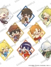 Bungo Stray Dogs - Clear Clip Badge WHITE 8Pack BOX(Pre-order)